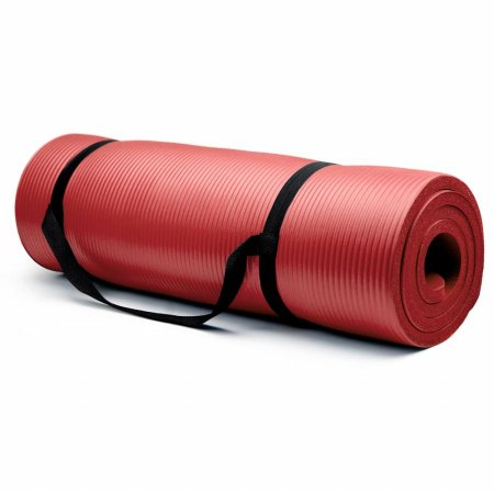 Bry Belly SYOG-004 Extra Thick - .75 in Yoga Mat - Red