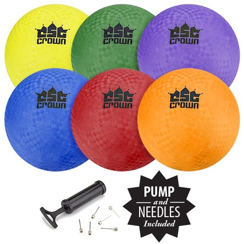 Brybelly Holdings SBAL-001 Set of Six - 8.5 in. Playground Balls