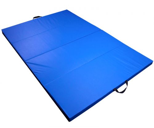 Brybelly Holdings SFIT-101 Blue Childrens and Gymnastics 4 x 6 Tumbling Mat
