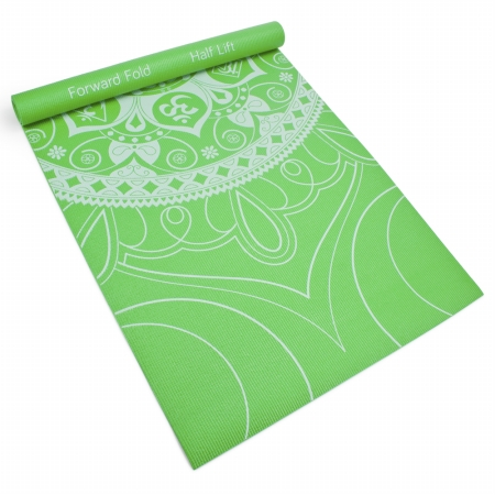 Brybelly Holdings SYOG-076 3 mm Meadow Premium Printed Yoga Mat