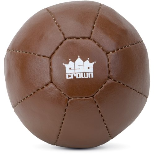 Brybelly SMBL-104 8.8 lbs Leather Medicine Ball
