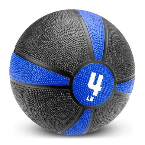 BrybellyHoldings SMBL-001 4 lbs. Tuff Grip Rubber Medicine Ball