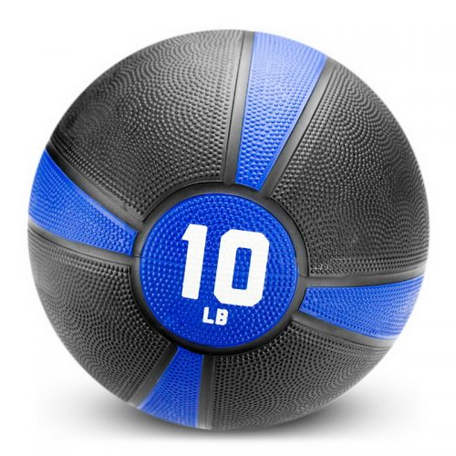 BrybellyHoldings SMBL-004 10 lbs. Tuff Grip Rubber Medicine Ball