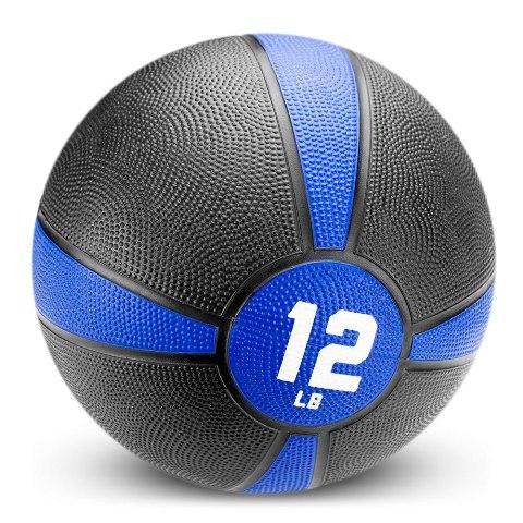 BrybellyHoldings SMBL-005 12 lbs. Tuff Grip Rubber Medicine Ball