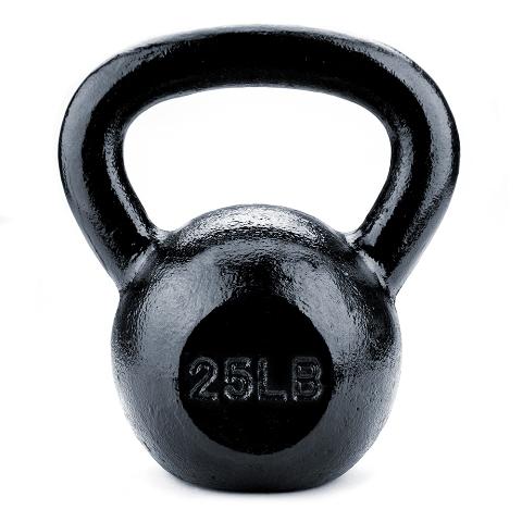 BrybellyHoldings SWGT-206 25 lbs. Cast Iron Kettlebell
