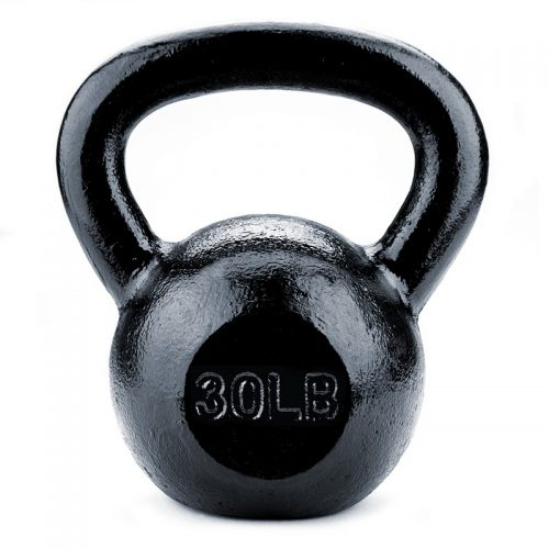 BrybellyHoldings SWGT-207 30 lbs. Cast Iron Kettlebell