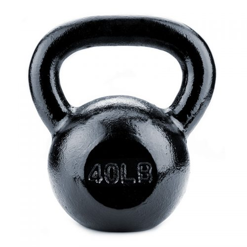 BrybellyHoldings SWGT-209 40 lbs. Cast Iron Kettlebell
