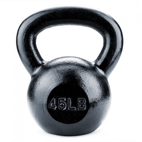 BrybellyHoldings SWGT-210 45 lbs. Cast Iron Kettlebell