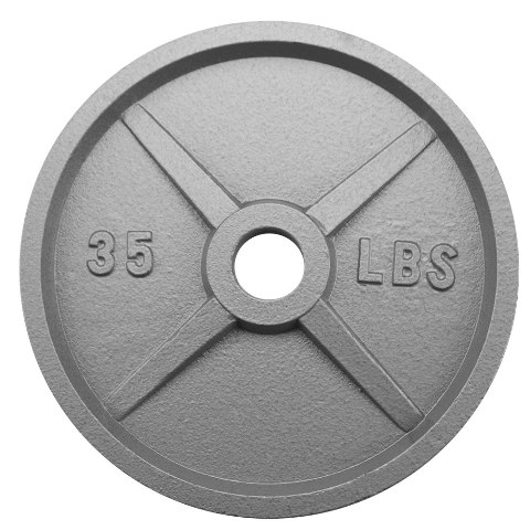 BrybellyHoldings SWGT-505 35 lbs. Olympic Style Iron Weight Plate