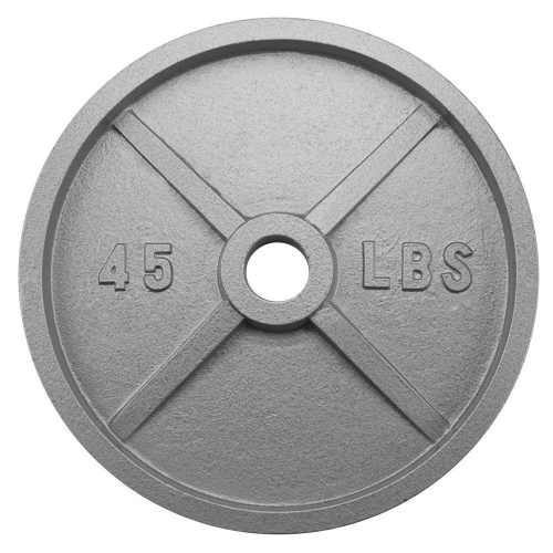 BrybellyHoldings SWGT-506 45 lbs. Olympic Style Iron Weight Plate