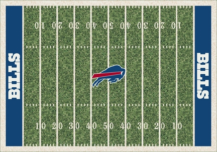 "Buffalo Bills 3' 10"" x 5' 4"" Home Field Area Rug"