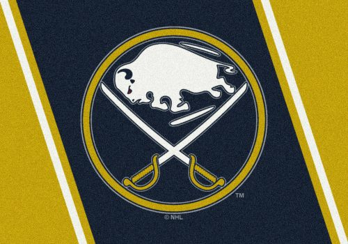 "Buffalo Sabres 3' 10"" x 5' 4"" Team Spirit Area Rug"