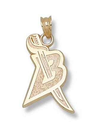 "Buffalo Sabres 5/8"" ""B"" Sword Logo Pendant - 10KT Gold Jewelry"