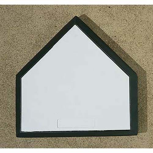 Bury-All Home Plate with Wood Bottom from Markwort