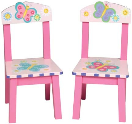 "Butterfly"" Extra Chairs (Set of 2)"