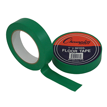 CHAMPION SPORTS CHS1X36FTGN FLOOR TAPE GREEN