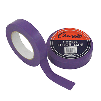 CHAMPION SPORTS CHS1X36FTPR FLOOR TAPE PURPLE