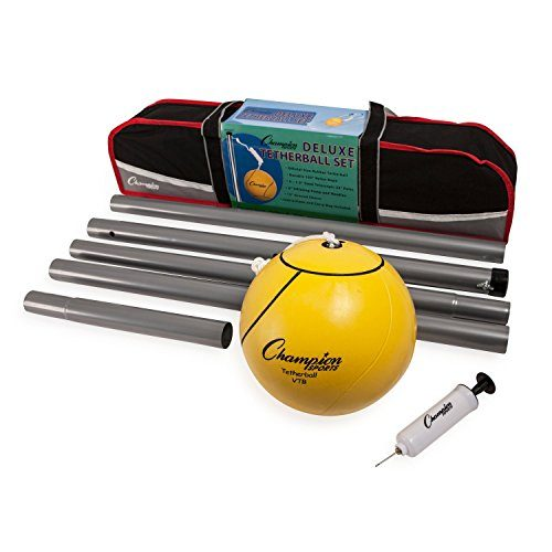 CHAMPION SPORTS CHSDTBSET DELUXE TETHER BALL SET