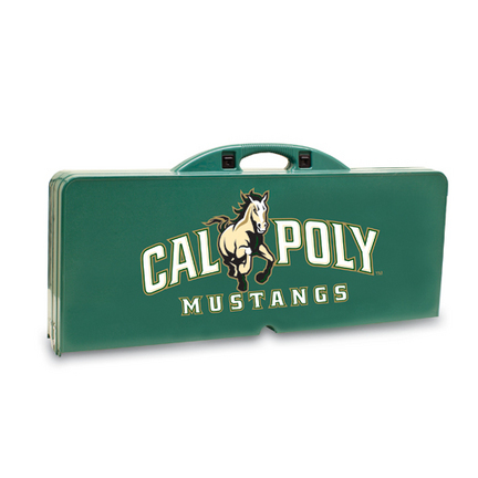 Cal Poly Mustangs Folding Picnic Table