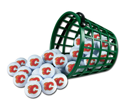 Calgary Flames Golf Ball Bucket (36 Balls)