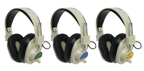 Califone 1543818 72.5 mHz Blue System Cordless Headphone