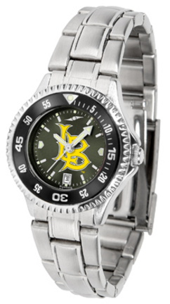 California State (Long Beach) Dirtbags Competitor AnoChrome Ladies Watch with Steel Band and Colored Bezel