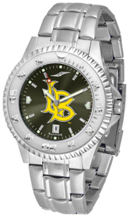 California State (Long Beach) Dirtbags Competitor AnoChrome Men's Watch with Steel Band