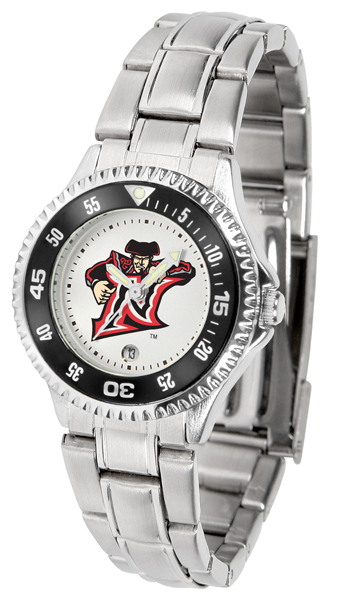 California State (Northridge) Matadors Competitor Ladies Watch with Steel Band