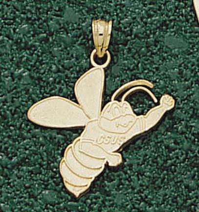 "California State (Sacramento) Hornets ""Hornet"" Pendant - 10KT Gold Jewelry"