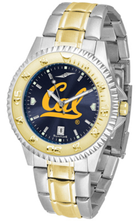 California (UC Berkeley) Golden Bears Competitor AnoChrome Two Tone Watch