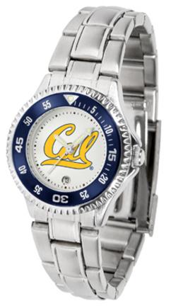 California (UC Berkeley) Golden Bears Competitor Ladies Watch with Steel Band