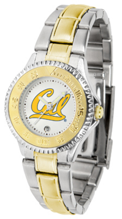 California (UC Berkeley) Golden Bears Competitor Ladies Watch with Two-Tone Band