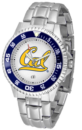 California (UC Berkeley) Golden Bears Competitor Men's Watch with Steel Band
