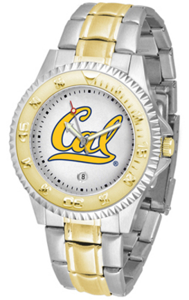California (UC Berkeley) Golden Bears Competitor Two Tone Watch