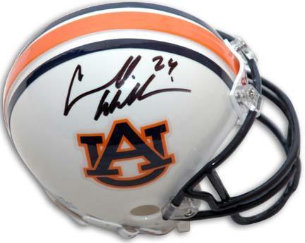 "Carnell ""Cadillac"" Williams Autographed Auburn Tigers Riddell Mini Helmet"