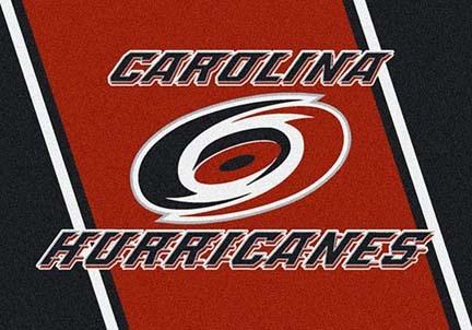 "Carolina Hurricanes 3' 10"" x 5' 4"" Team Spirit Area Rug"