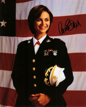 """Catherine Bell Autographed """"Jag"""" 8"""" x 10"""" Photograph (Unframed)"""