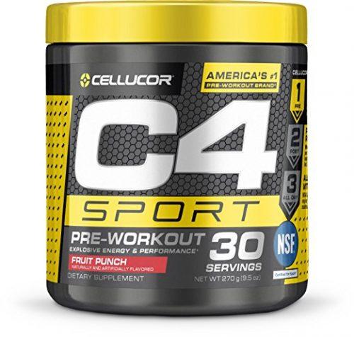 Cellucor 6550527 C4 Sport Fruit Punch 30 Serves