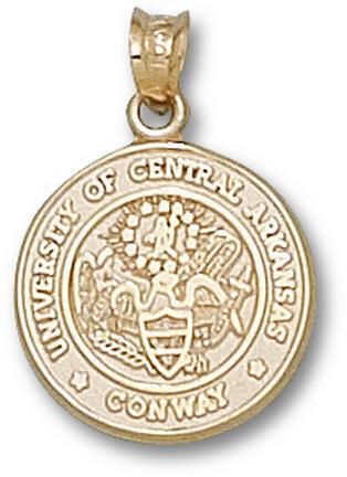 "Central Arkansas Bears ""Seal"" Pendant - 10KT Gold Jewelry"
