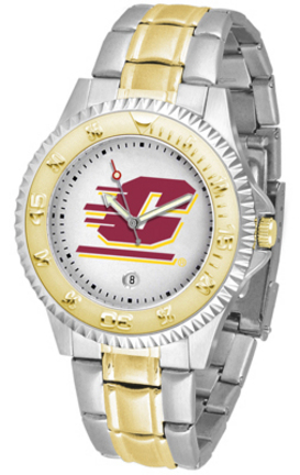 Central Michigan Chippewas Competitor Two Tone Watch
