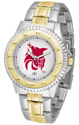 Central Washington Wildcats Competitor Two Tone Watch