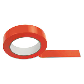 Champion Sport 1X36FTRD Floor Tape 1 x 36 yds Red