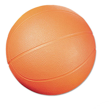 Champion Sport BFC Coated Foam Sport Ball Basketball No. 3 Size Orange