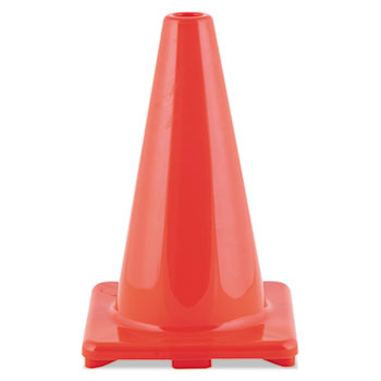 Champion Sport C12OR Hi-Visibility Vinyl Cones 12 Tall Orange