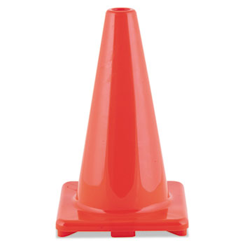 Champion Sport C18OR Hi-Visibility Vinyl Cones 18 Tall Orange
