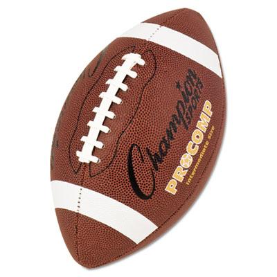 Champion Sport CF200 Pro Composite Football Intermediate Size 21 in. Brown