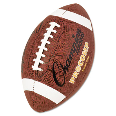 Champion Sport CF300 Pro Composite Football Junior Size 20.75 in. Brown