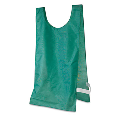 Champion Sport NP1GN Heavyweight Pinnies Nylon One Size Green 12 per Pack