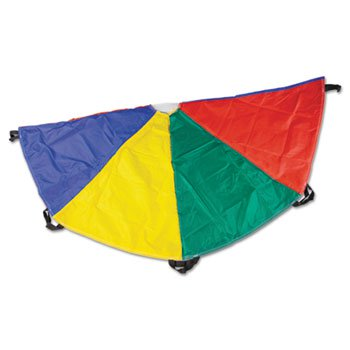 Champion Sport NP20 Nylon Multicolor Parachute 20ft diameter 8 Handles