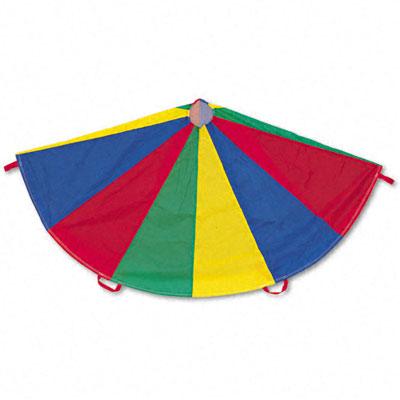 Champion Sport NP24 Nylon Multicolor Parachute 24-ft. diameter 20 Handles